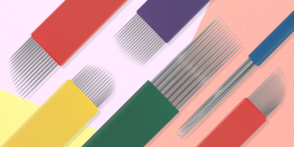 Microblading & Microshading needles explained